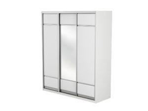 Шкаф-купе 3х дв Como/Veda (1 зеркало)