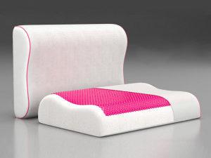 Анатомическая подушка Contour Pink