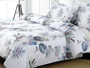 Комплект постельного белья Askona  (пододеяльник + наволочка), цвет: Tropics