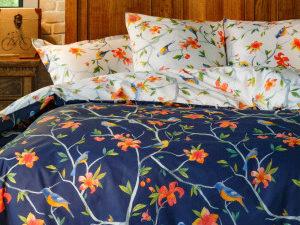 Комплект постельного белья Райские птицы