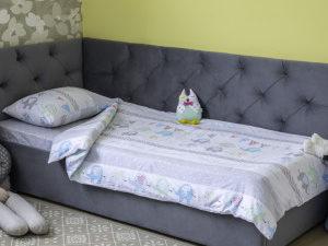 Комплект детского постельного белья Elephant (пододеяльник + наволочка)