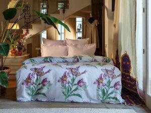 Комплект постельного белья Букет лилий