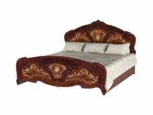 Кровать 1,4 РОЗА радика орех
