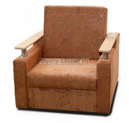 Кресло-кровать Лель хром – шинилл штрих