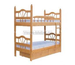 Двухъярусная разборная кровать Лучик-2