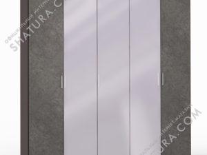 Шкаф 5 дв. (2 + 1 + 2) с зерк., FU1-01.CP/DFS