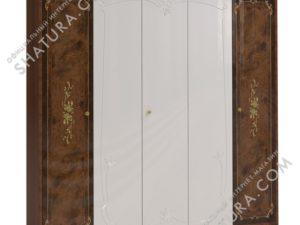 Шкаф 5 дв. (2 + 1 + 2) с зерк.,  чимаза, FU3-01.F8W