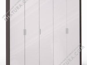 Шкаф 5 дв. (2 + 1 + 2) паспарту, FU1-01.CP/23P