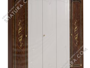Шкаф 5 дв. (2 + 1 + 2) с зерк., FU3-01.F8W