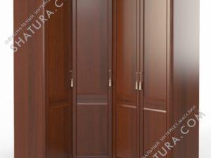 Шкаф угловой (1 + угл. + 2) (двери левые,  ограничитель), FU5-01.Z1L