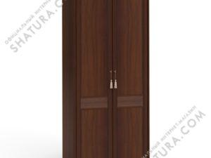 Шкаф 2 дв.,  2 дв. щит. (2 пол.,  штанга,  карн,  пил.), F5B-01.Z1L