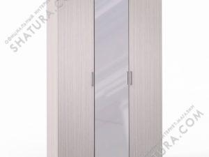 Шкаф 3 дв. (1 + 2) с зерк., FU1-01.CG