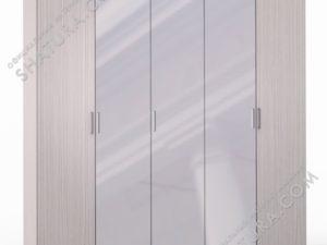 Шкаф 5 дв. (2 + 1 + 2) с зерк., FU1-01.CG
