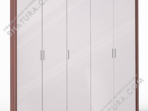 Шкаф 5 дв. (2 + 1 + 2) паспарту, FU1-01.CH/23P