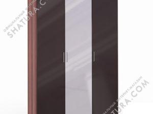 Шкаф 3 дв. (1 + 1 + 1) с зерк., FU1-01.CH/CI
