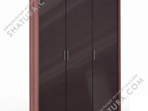 Шкаф 3 дв. (1 + 2) паспарту, FU1-01.CH/CI