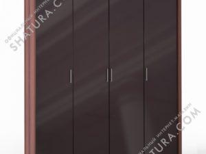 Шкаф 4 дв. (1 + 2 + 1) паспарту, FU1-01.CH/CI