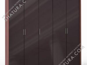 Шкаф 5 дв. (2 + 1 + 2) паспарту, FU1-01.CH/CI
