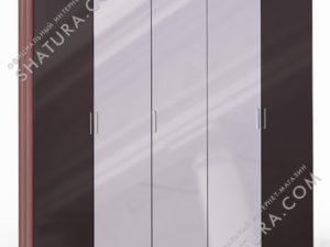 Шкаф 5 дв. (2 + 1 + 2) с зерк., FU1-01.CH/CI