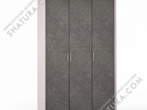Шкаф 3 дв. (1 + 2) паспарту, FU1-01.CG/DFS