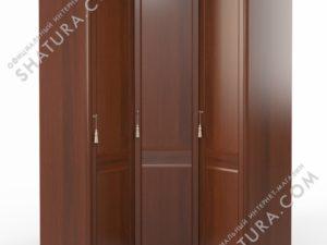 Шкаф угловой (1 + угл. + 1) (двери правые,  ограничитель), FU5-01.Z1L