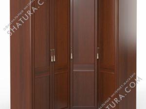 Шкаф угловой (2 + угл. + 1) (двери правые,  ограничитель), FU5-01.Z1L