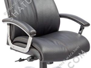 Кресло EChair-CS-8821E-2 к/з черный,   298060