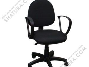 Кресло  30/Ф пласт./ткань черн. В14,  369100