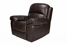 Кресло с электрическим реклайнером Миллер (Miller)темный каштан