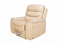 Кресло с электрическим реклайнером Рокки (Rockey)молочное пралине