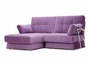 Дудинка мини угловой диван Galaxy фиолетовый