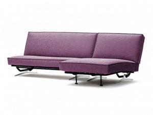 Арни угловой диван Letizia фиолетовый