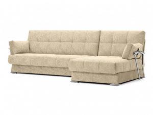 Дудинка угловой диван Letizia бежевый