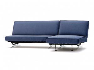 Арни угловой диван Galaxy синий