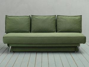 Модена диван-кровать Galaxy зеленый без подлокотников