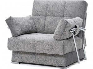 Дудинка раскладное кресло Letizia серый