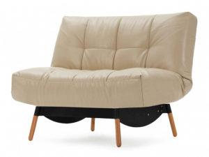 Артес раскладное кресло Экокожа бежевый