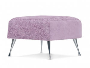 Сити пуф Letizia фиолетовый