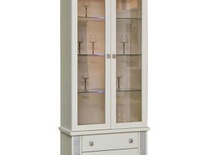 Шкаф с витриной «Тунис» П343.12Ш