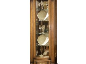 Шкаф с витриной «Верди Люкс 1з» П487.11з-01