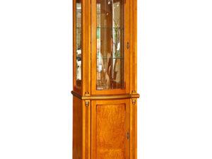 Шкаф с витриной «Валенсия 1.1з» П244.14.1