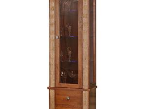 Шкаф с витриной «Тунис» П343.19-1Ш