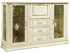 Шкаф комбинированный «Верди Люкс 3/3з» П487.13з