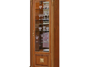 Шкаф с витриной «Алези 10 Люкс» П350.13л