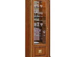 Шкаф с витриной «Алези 10 Люкс» П350.13-01л