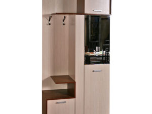 Шкаф комбинированный для прихожей «Эльба» П217.05
