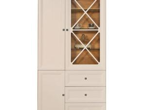 Шкаф с витриной «Сканди» П515.02