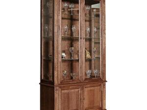 Шкаф с витриной «Пьемонт» П518.20