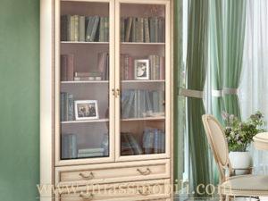 Шкаф двухдверный с ящиками крем в Миассе