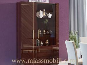 Шкаф для посуды двудверный Mirella в Миассе